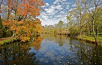 Autumn Colors on the Delaware and Raritan Canal D&R Canal