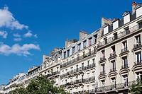 Pariser Häuserzeile