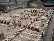 Dry dock for repairing boats in Suomenlinna, Finland