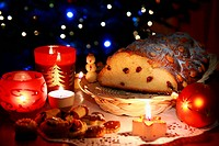 Christmas atmosphere _ sweets and christmas decoration