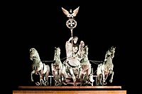 chariot Brandenburg Gate berlin germany