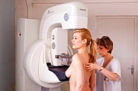 Breast cancer screening. Digital mammography.