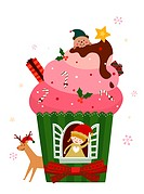 Christmas ice cream (thumbnail)