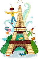 Attractions of Paris