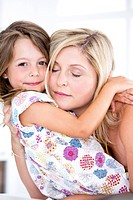Germany, Mother and daughter embracing