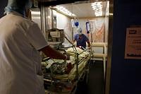 EMERGENCY CASE, HOSPITAL