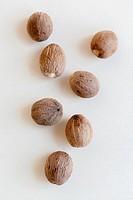 Nutmeg seed kernels.