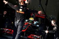 Lewis Hamilton GBR, McLaren Mercedes, F1 Testing Jerez de la Frontera, Spain 7_10 February 2012