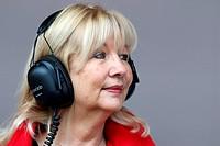 Simone, mother of Jenson Button GBR, McLaren Mercedes ,F1,Testing Barcelona, Spain ,Barcelona .