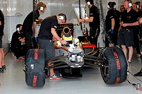 Pedro De La Rosa ESP HRT F1 Team, F1, Australian Grand Prix, Melbourne, Australia