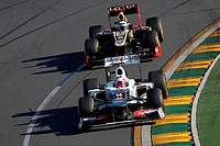 Kamui Kobayashi J Sauber F1 Team, F1, Australian Grand Prix, Melbourne, Australia