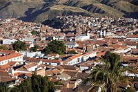 View of Sucre UNESCO World Heritage Site, Bolivia