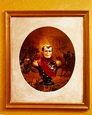 Painting of a Bust of Napoleon I
