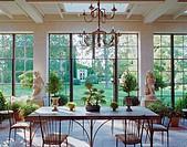 Atrium and Lawn