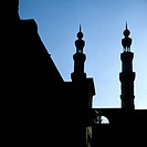 Silhouettes of Minarets at Bab Zuwayla, Cairo