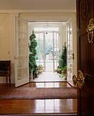 View to Patio through Open Doors
