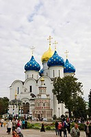 The Trinity Sergiev Monastery, Sergiev_Posad, Golden Ring of Moscow, Russia
