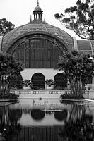 Botanical building in Balboa park, San Diego