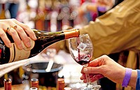 USA, Washington, Anacortes. Anacortes Spring Wine Festival featured over 30 wineries and six restaurants.