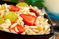 Puffed Rice Cereal with Fruits