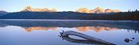 Sunrise over Redfish Lake and Sawtooth Mountains, Idaho