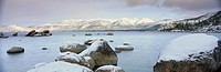 Lake Tahoe in Wintertime, Nevada