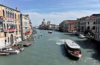 Grand Canal, Venice, Veneto, Italy, Europe