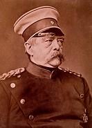 Otto von Bismarck 1815_1898, German Statesman, Portrait