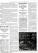Armistice Signed, End of the War, New York Times Interior Page, November 11, 1918