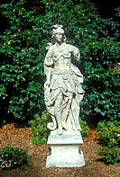 Statuary in Huntington Library and Gardens, Pasadena, CA
