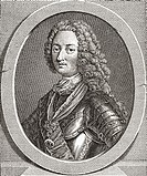 Louis d´Orléans, duc d´Orléans,1703 – 1752  Duke of Orléans and a member of the French royal family  From Les Heures Libres published 1908