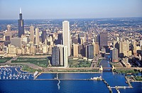 The Chicago Skyline, Chicago, Illinois