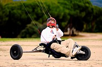YOUNG ATHLETE Blokart PRACTICING IN MADRID