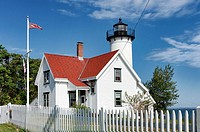 West Chop Lighthouse, Vineyard Haven, Martha's Vineyard, Massachusetts, USA