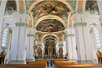 Switzerland, St. Gallen, St. Gallen Abbey