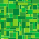 Green abstract geometric pattern