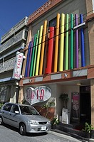 Naha Okinawa, Japan, 'soapland'club brothel