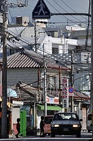Naha, Okinawa, Japan, view of Yorimiya