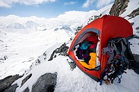 Mountaineering base camp.