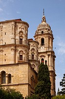 Cathedral Church, Malaga, Andalusia, Spain