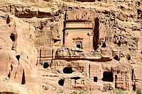 Petra, Jordan  The Royal Tombs.