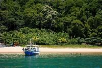 Vermelha Beach near Parati, Rio de Janeiro State, Brazil, South America