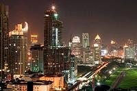 Bangkok skylines