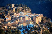 Medieval village of Chateaudouble, Var, 83, Provence, PACA, France.