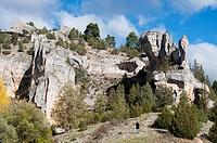 Cañon del rio lobos, Soria, Spain.