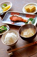 Japanese traditional breakfast