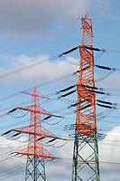 Germany, Electricity pylon