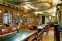 Historic Industrial Club 1910, Library, Alcoy, Alicante province, Spain