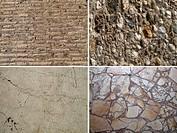 Set of stone textures