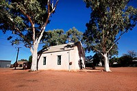 Hermansburg historic precinct, home of Indgenous artist Albert Namatjira, Central Australia
